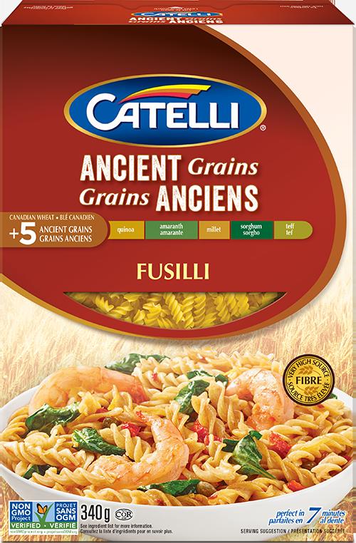 Catelli Grains Anciens Fusilli