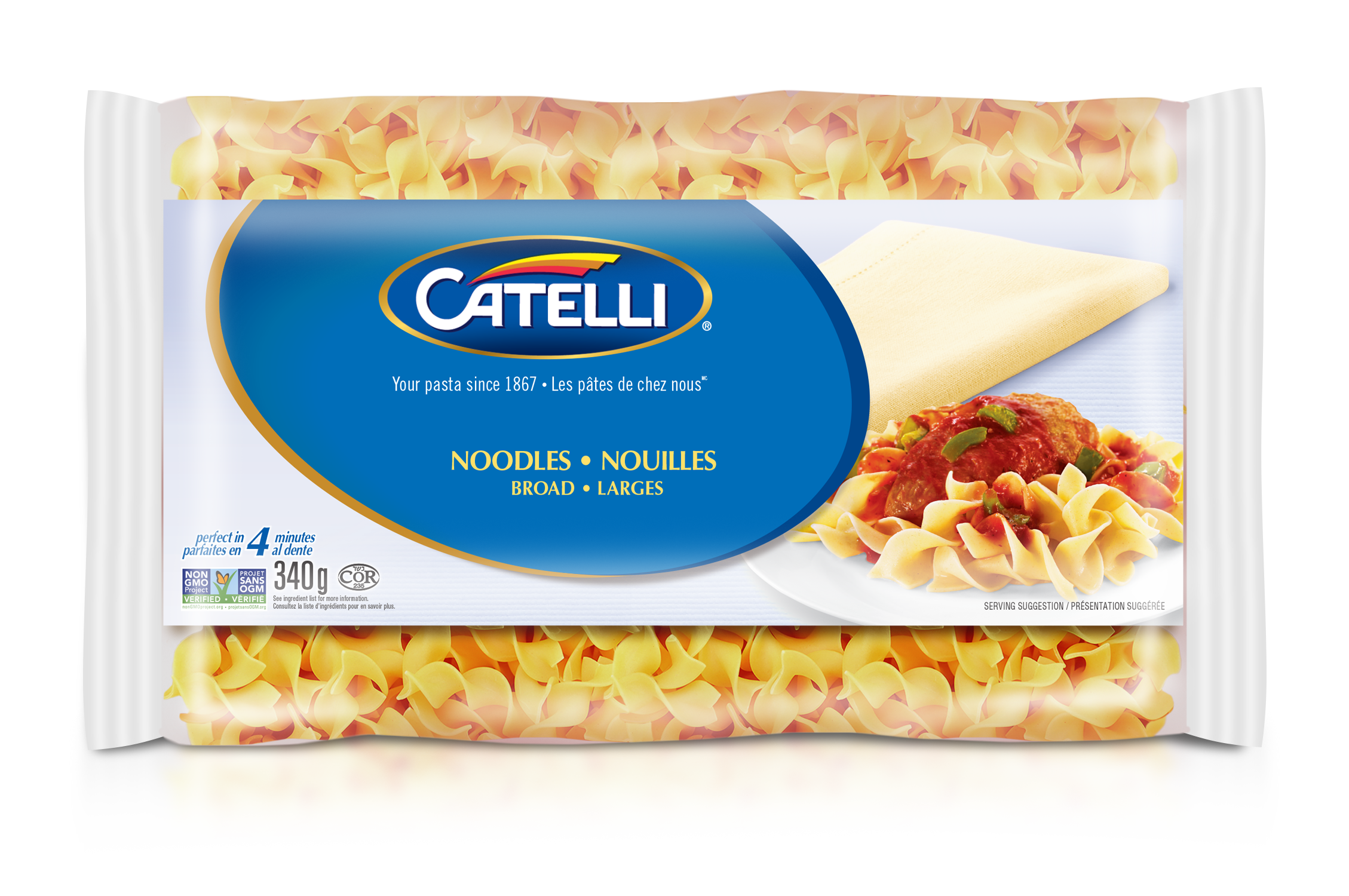 Catelli Classic Broad Plain Noodles