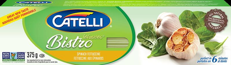 Catelli Bistro Infusions Spinach Fettuccine