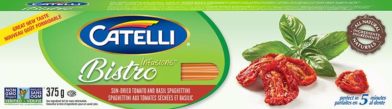 Catelli Bistro Infusions Sun-Dried Tomato & Basil Spaghettini