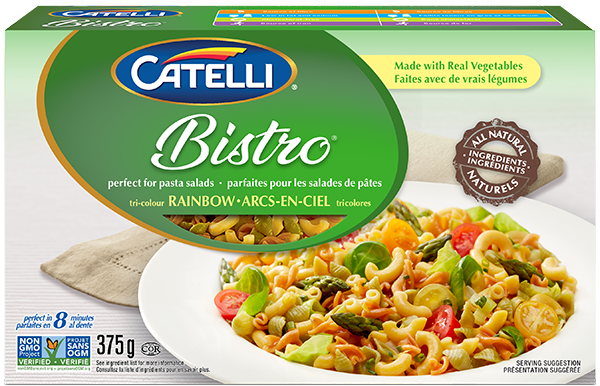 Catelli Bistro Arc-en-ciel Tricolores