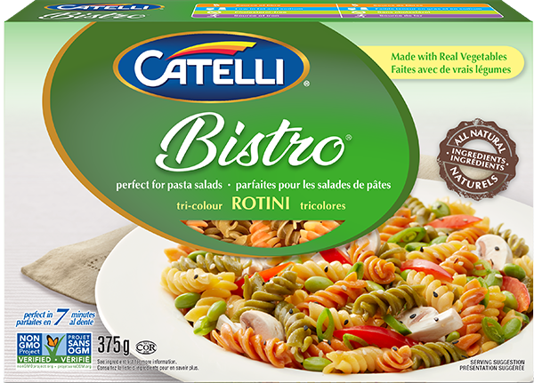 Catelli Bistro Tri-Colour Rotini