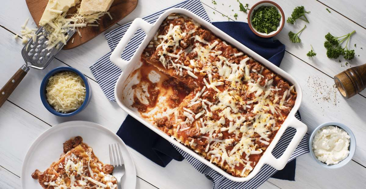 Easy-to-Prepare-Lasagna