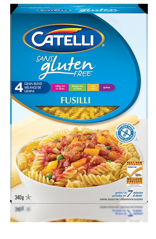 Catelli Gluten Sans Fusilli