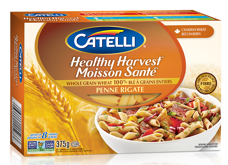 Catelli Healthy Harvest Whole Wheat Penne Rigate