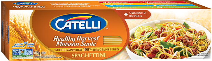 Catelli Healthy Harvest Whole Wheat Spaghettini