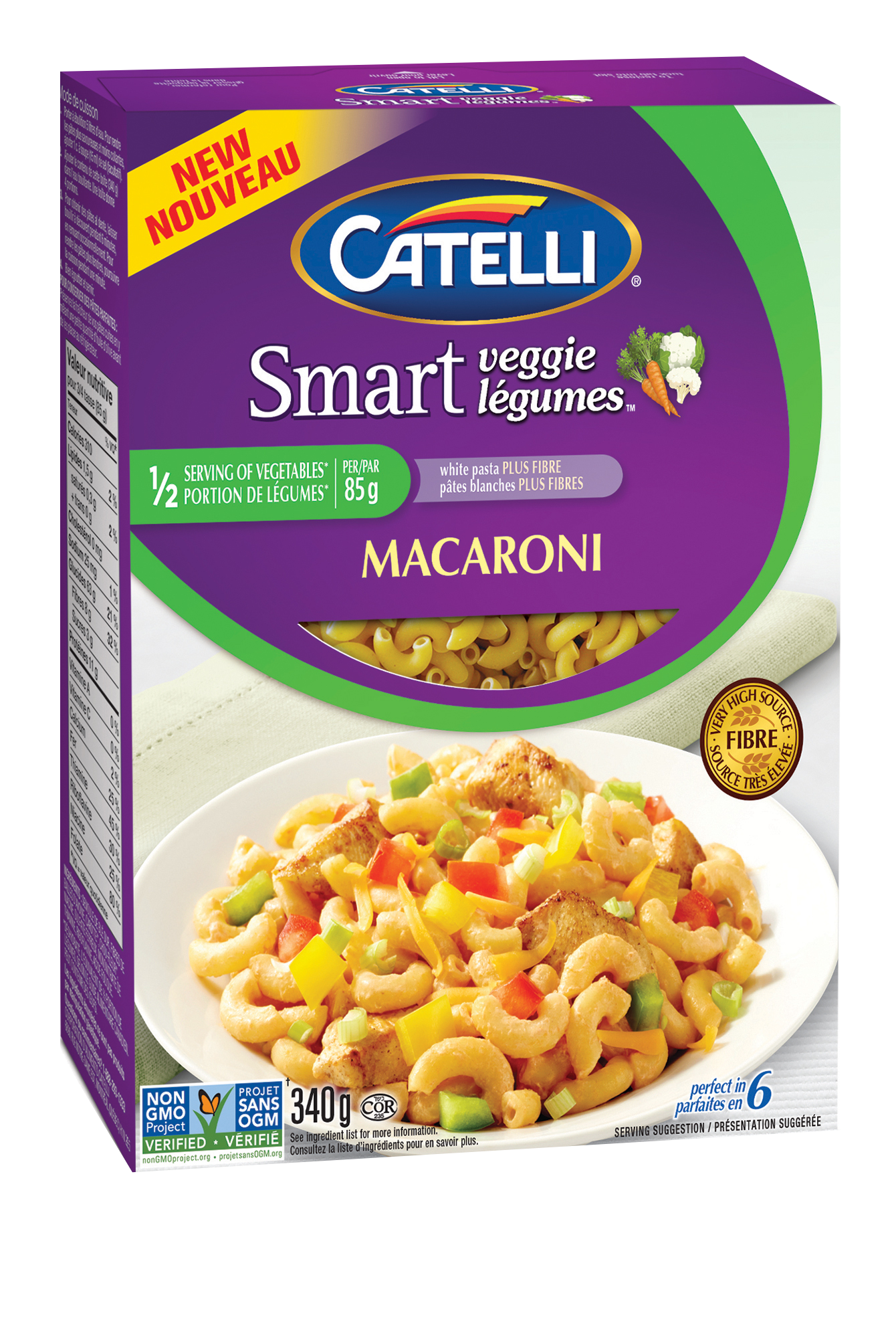 Catelli Smart Veggie Macaroni