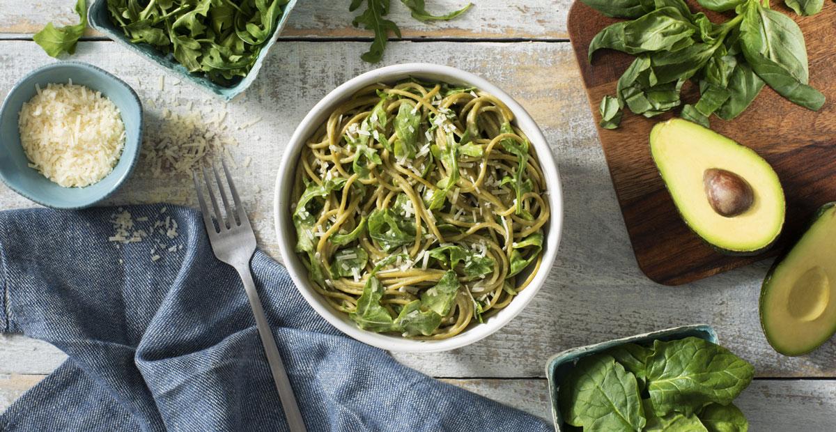 Creamy Greens Pasta