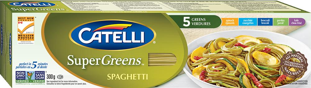 Spaghetti Catelli SuperGreens