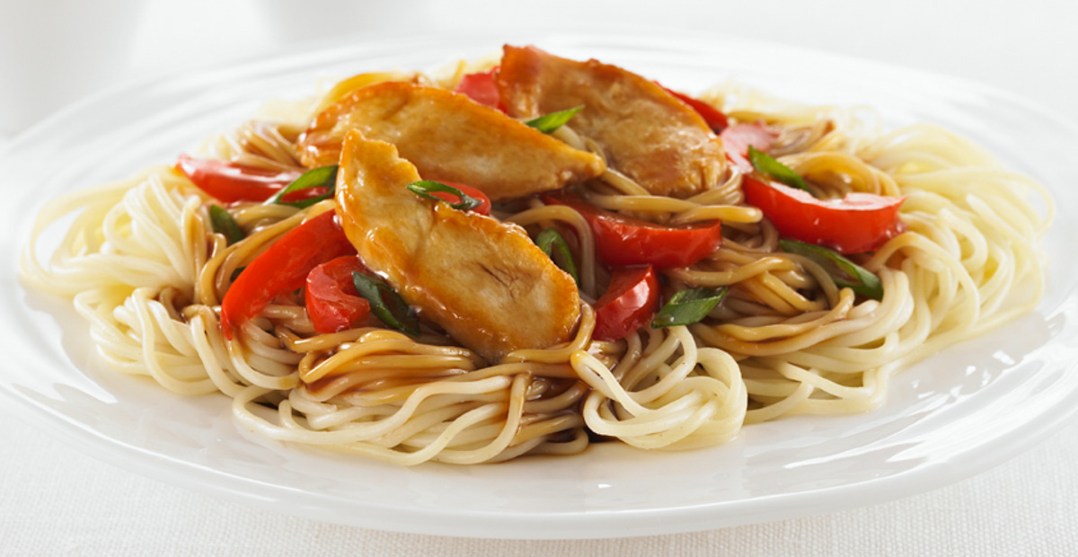 Vermicelli with Chicken in Peanut Sauce