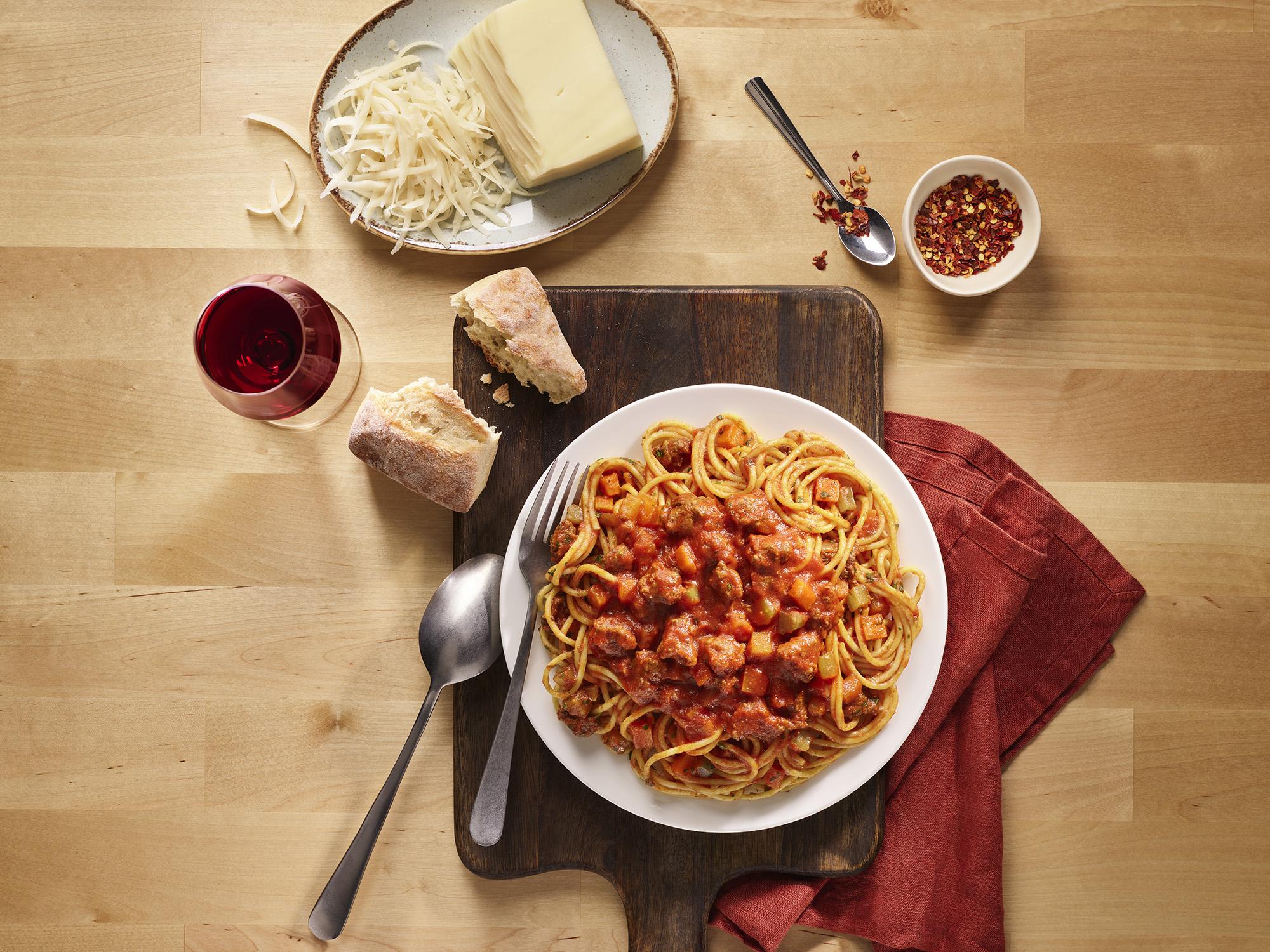 3. Chorizo Bolognese Spaghetti Recipe